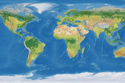 World Land Cover Thematic Map